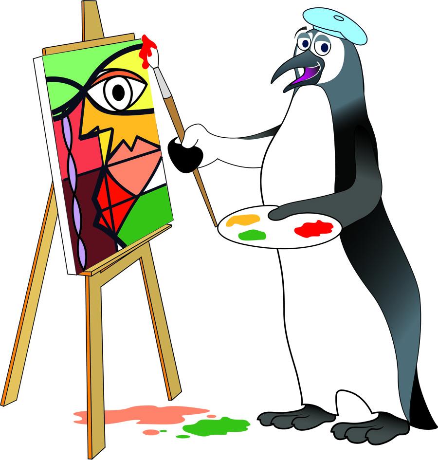 penguin-picasso
